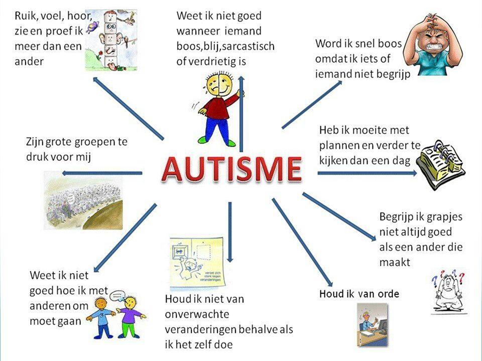 Autisme spectrum stoornissen DSM IV: Aparte stoornissen DSM V: Neurologische ontwikkelingsstoornissen MCDD
