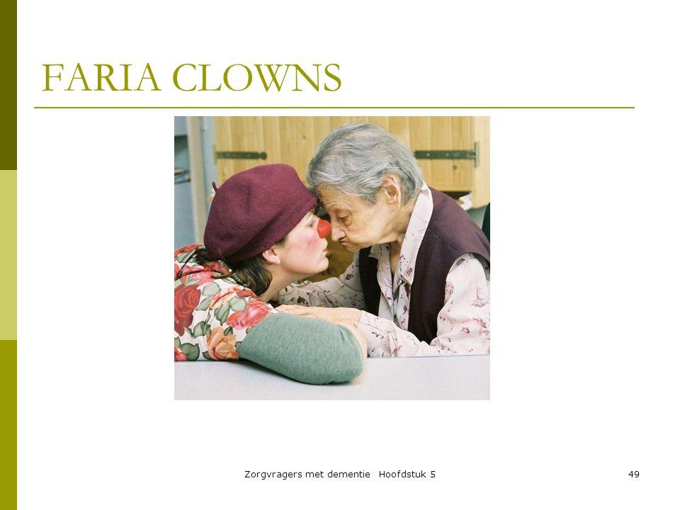 Zorgvragers met dementie Hoofdstuk 549 FARIA CLOWNS