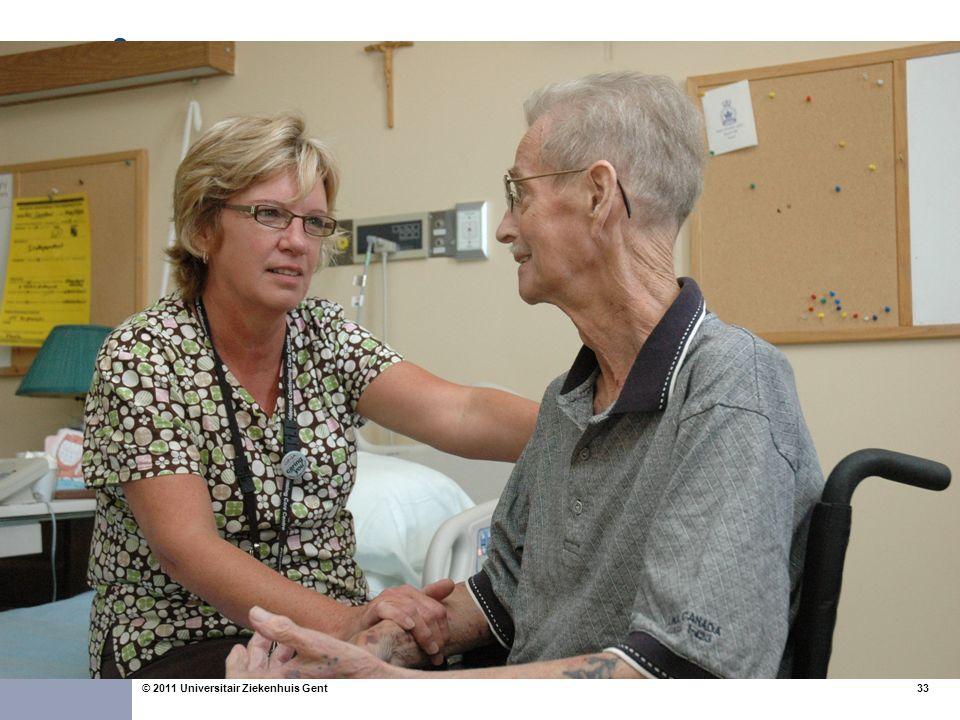 33© 2011 Universitair Ziekenhuis Gent