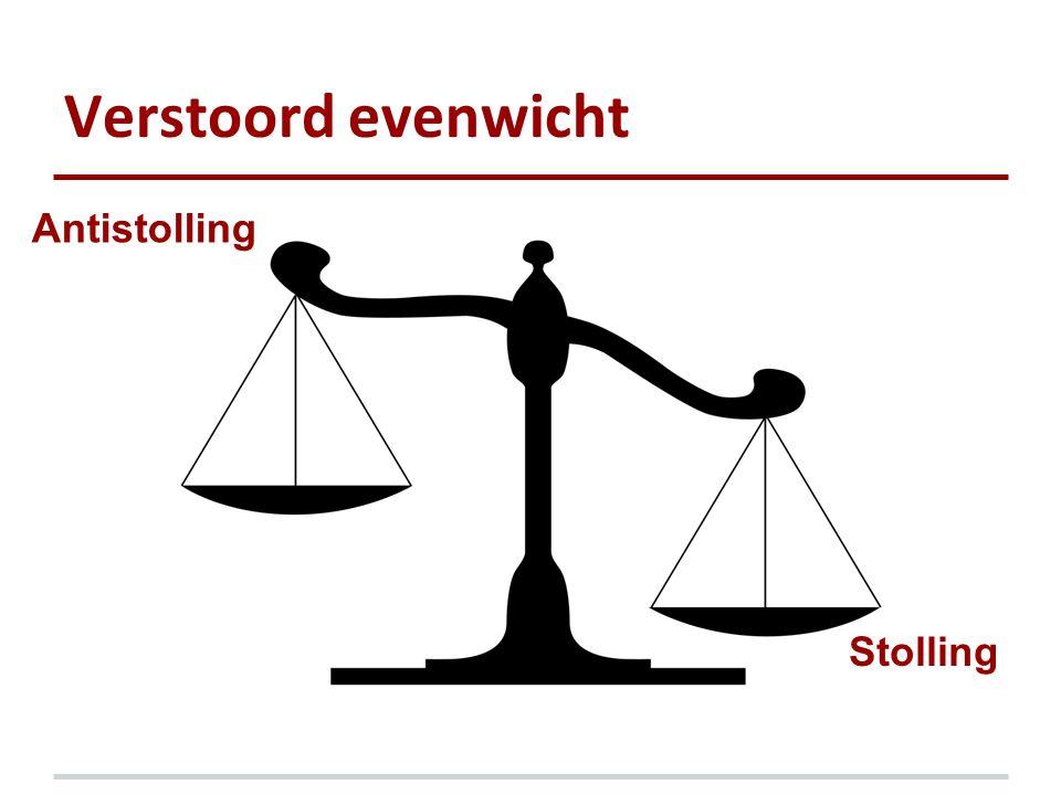 Verstoord evenwicht Antistolling Stolling