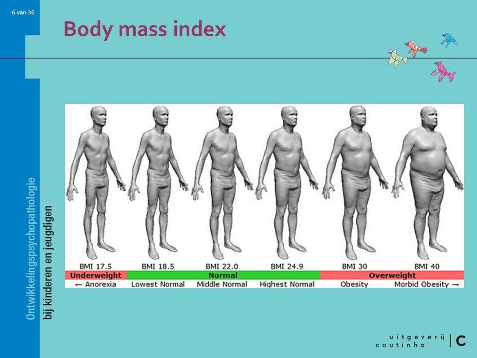 6 van 36 Body mass index