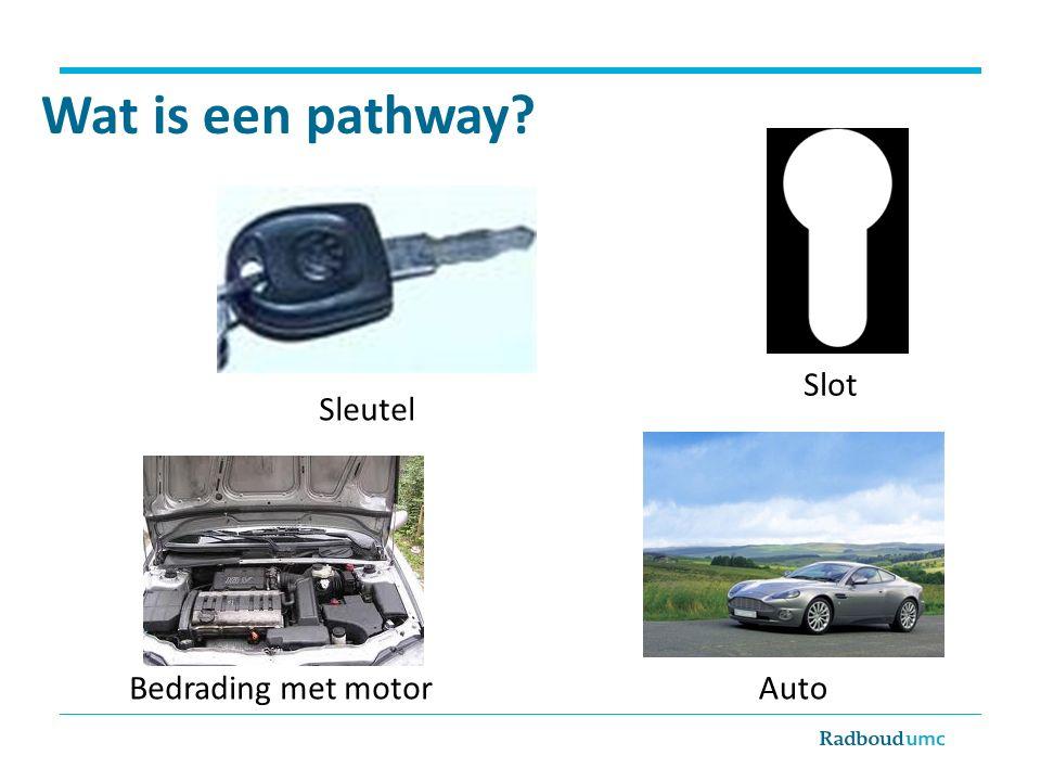 Wat is een pathway? Sleutel Slot Bedrading met motorAuto