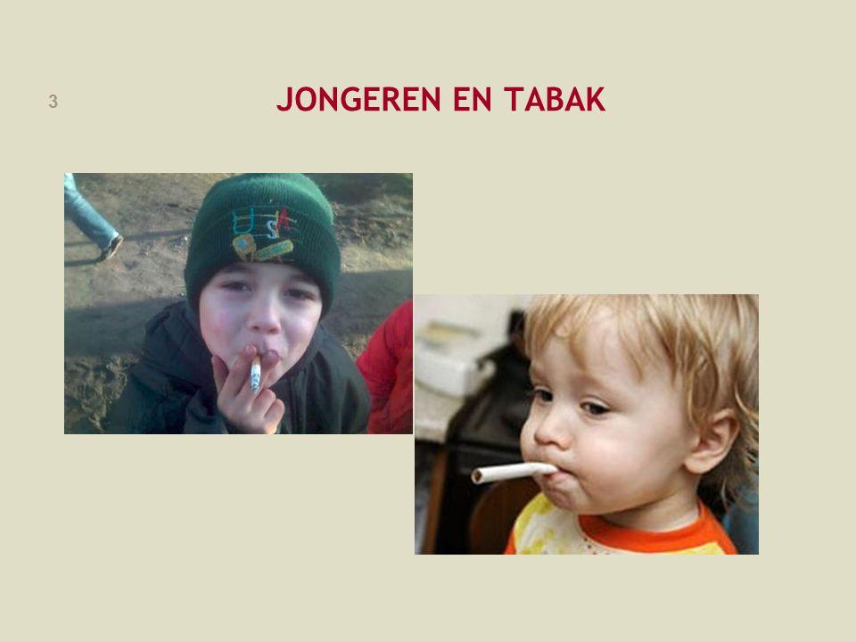 FOD VOLKSGEZONDHEID, VEILIGHEID VAN DE VOEDSELKETEN EN LEEFMILIEU 4 JONGEREN EN TABAK: INLEIDING Waarom beschermen tegen tabaksgebruik.