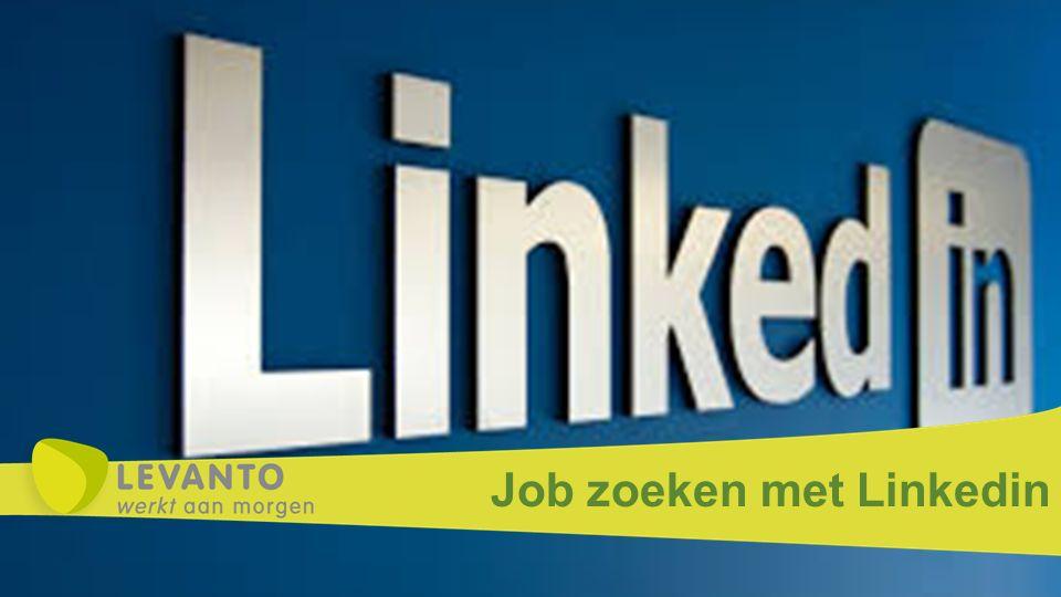 Job zoeken met Linkedin