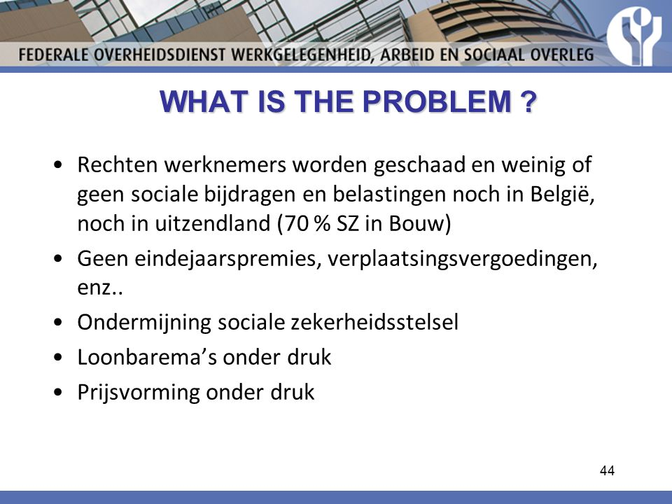 WHAT IS THE PROBLEM . WHAT IS THE PROBLEM .
