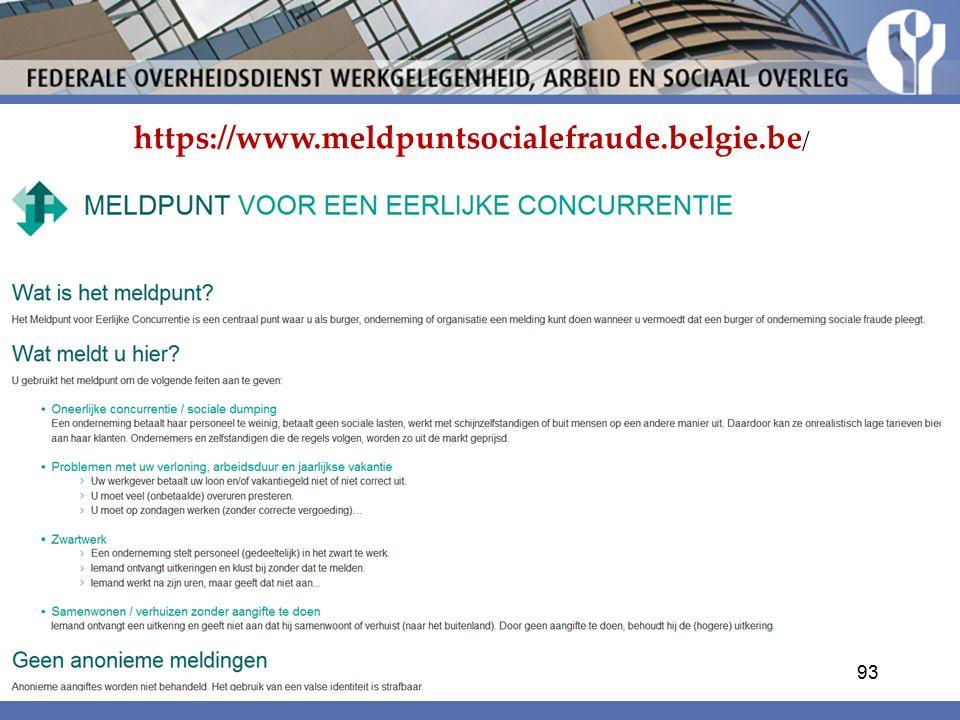 https://www.meldpuntsocialefraude.belgie.be / 93