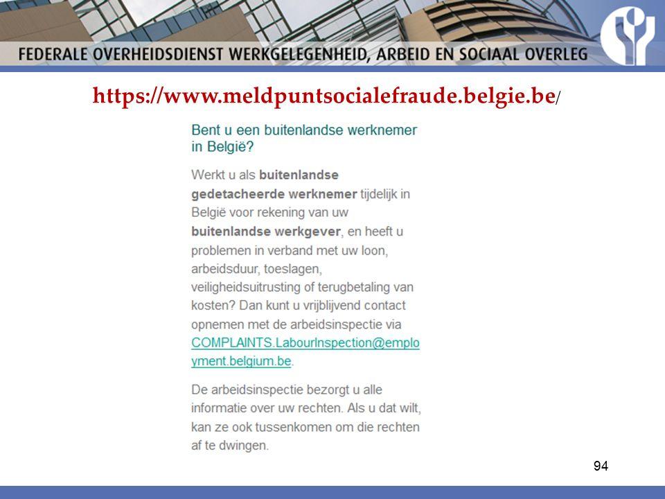 https://www.meldpuntsocialefraude.belgie.be / 94