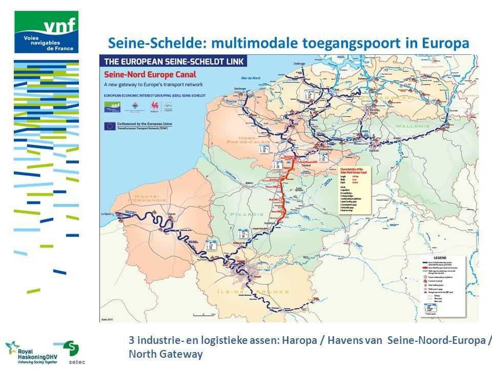De werkzaamheden van sector 3 – 26,8 km Moislains – A26 / KP 71,5 – KP 98,3 Belangrijk grondverzet met 27 m³ uitgegraven grond -2 overslagkaaien: Moislains en Graincourt werkkaaien CDN ophoging Canal du Nord over een recht stuk van 15 km 11 aanpassingen aan wegen 2 aanpassingen aan snelwegen (A2 en A26) Bedrag werken: € 660 miljoen Bedragen exclusief btw, bron: APSM, waarde januari 2013, exclusief provisies voor risico's