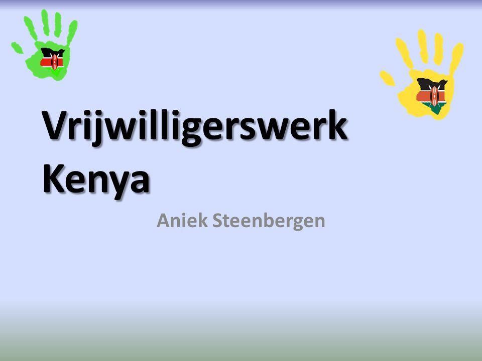 Vrijwilligerswerk Kenya Aniek Steenbergen