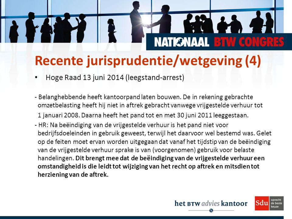 Hoge Raad 13 juni 2014 (leegstand-arrest) - Belanghebbende heeft kantoorpand laten bouwen.