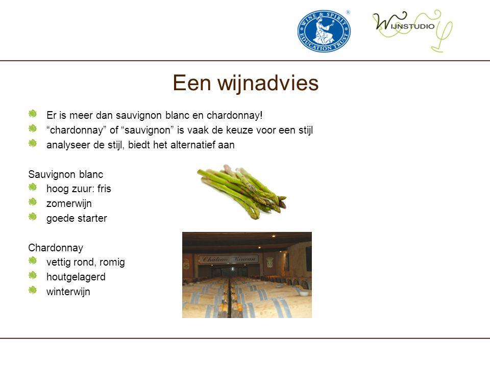 """Een wijnadvies Er is meer dan sauvignon blanc en chardonnay! """"chardonnay"""" of """"sauvignon"""" is vaak de keuze voor een stijl analyseer de stijl, biedt het"""