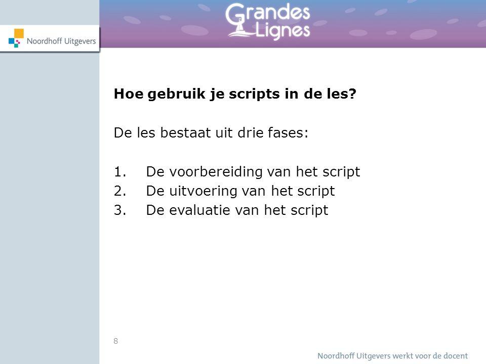 Hoe gebruik je scripts in de les.