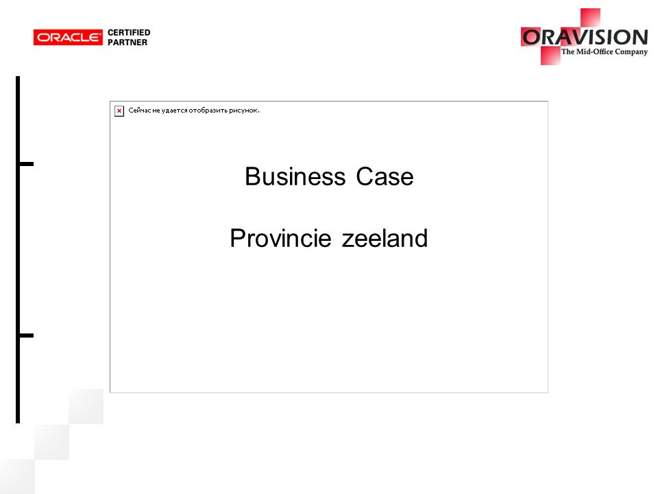 Business Case Provincie zeeland