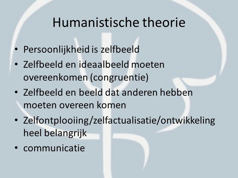 Humanistische theorie MaslowRogers
