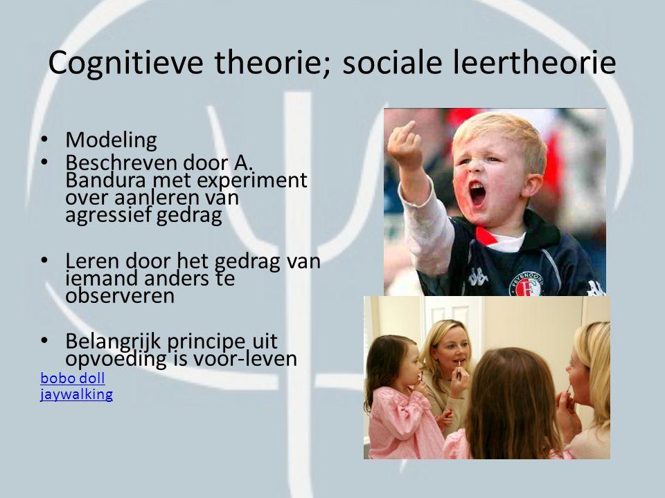 Cognitieve theorie; locus of control Eens of oneens.