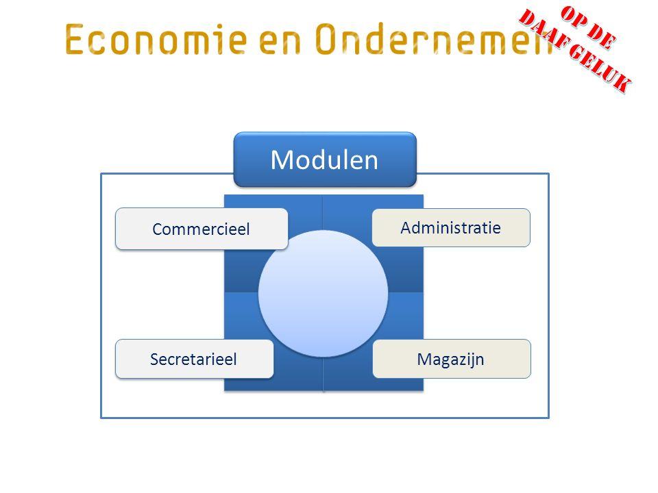 Secretarieel Magazijn Administratie Modulen Commercieel