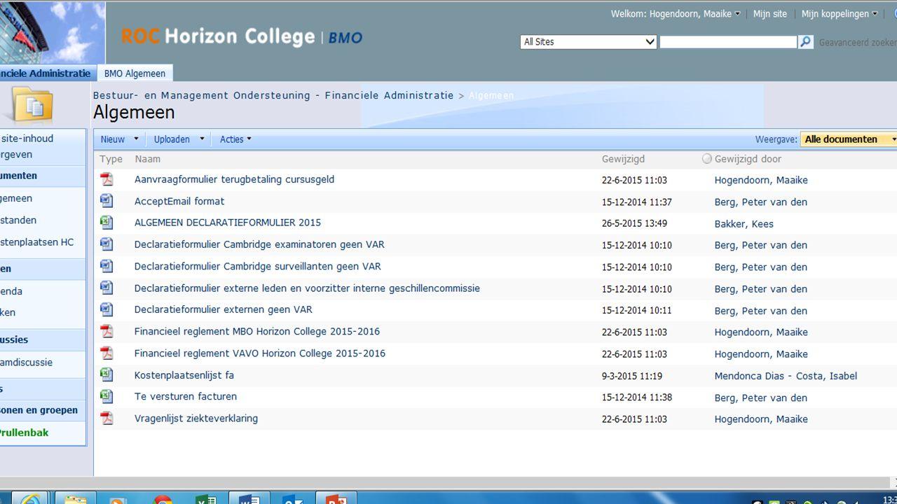Er zijn verschillende vormen van onderwijs binnen het Horizon College Vanaf 18 jaar BOL Lesgeld € 1131,- DUO Studie- financiering OV-kaart Ditzelfde geldt voor voltijd vavo