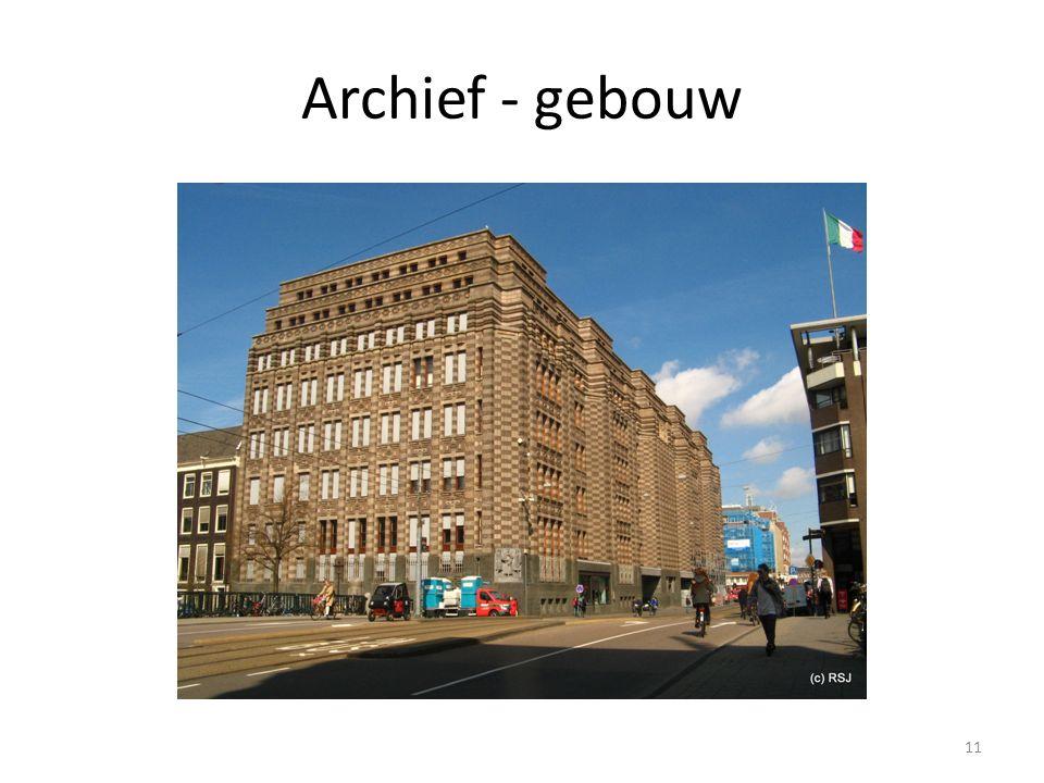 Archief - gebouw 11