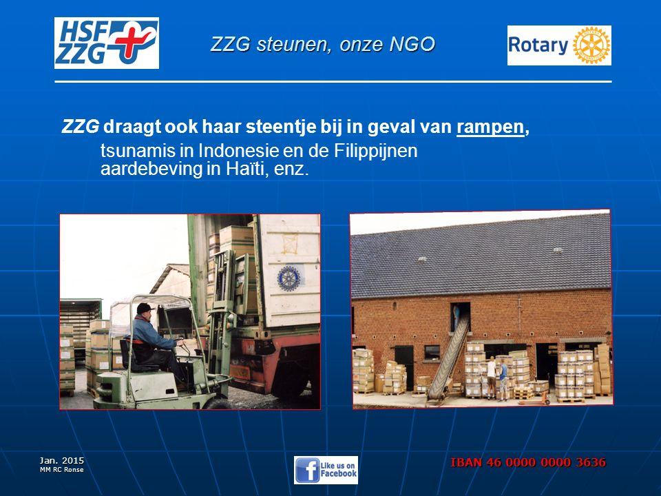 ZZG steunen, onze NGO Jan.