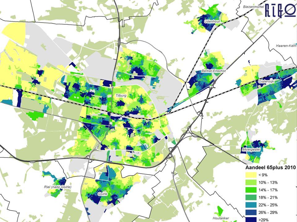 Statistische schatting van de omvang van specifieke groepen (gezondheidsmonitor & indicatiegrondslagen) in gebieden o.b.v.