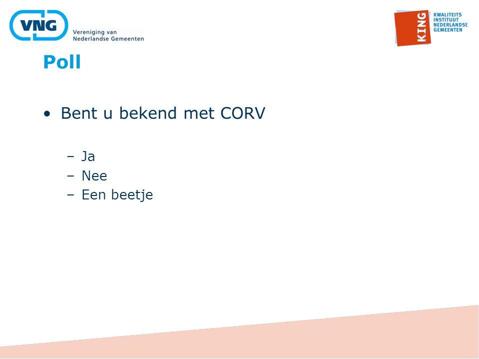 Wat is CORV?