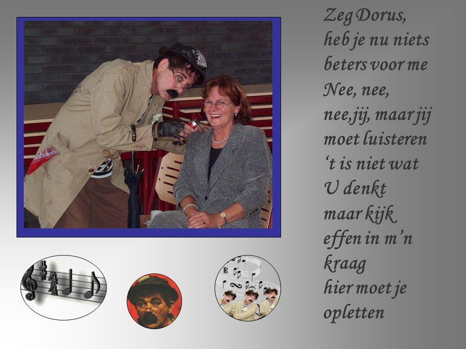 Dorus, artistennaam van Tom Manders Geboren 's Gravenhage (Nederland) op 23 oktober 1921 Overleden in Utrecht op 26 februari 1972 Bekende cabaretier met een reeks van tientallen mooie liedjes over verschillende onderwerpen.