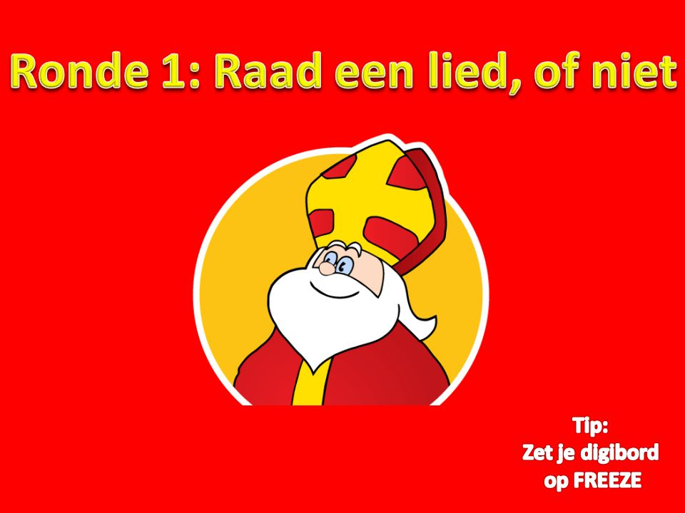 Vraag 3.Op welk waddeneiland kun je tijdens de Sinterklaasperiode 'Sunderums' vinden.