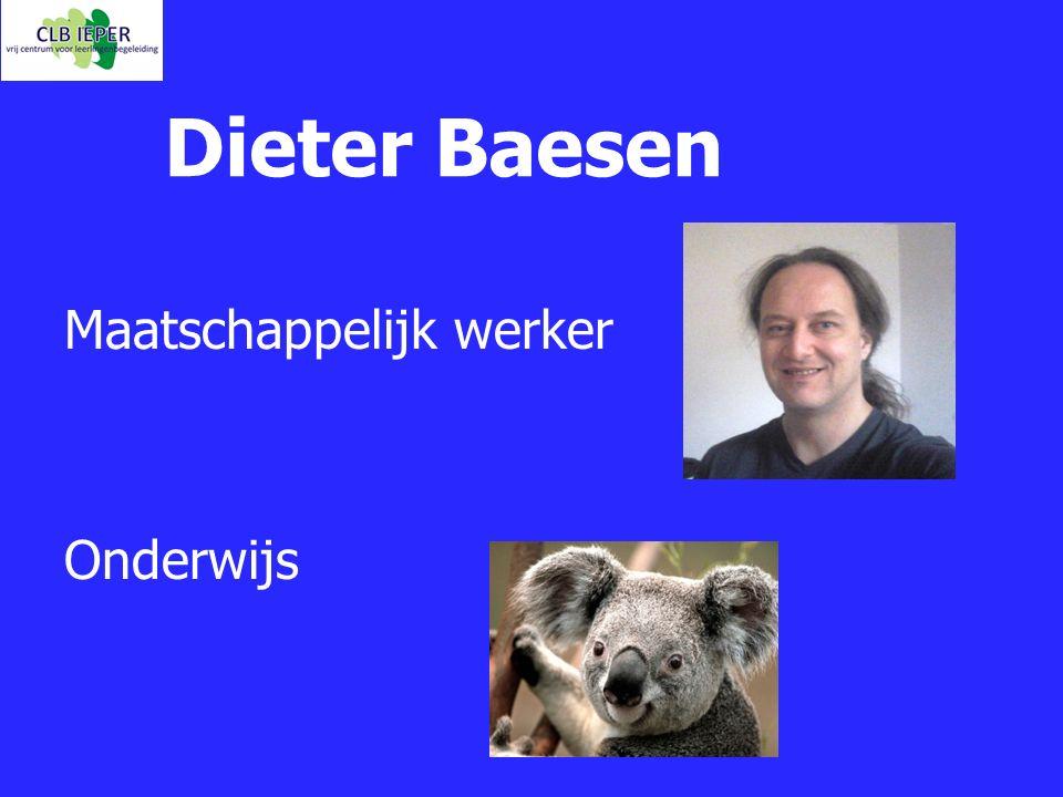 Dieter Baesen Maatschappelijk werker Onderwijs