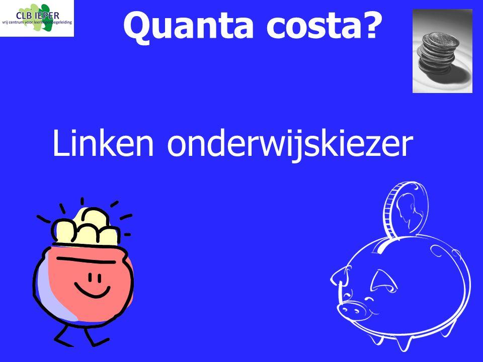 Linken onderwijskiezer Quanta costa?