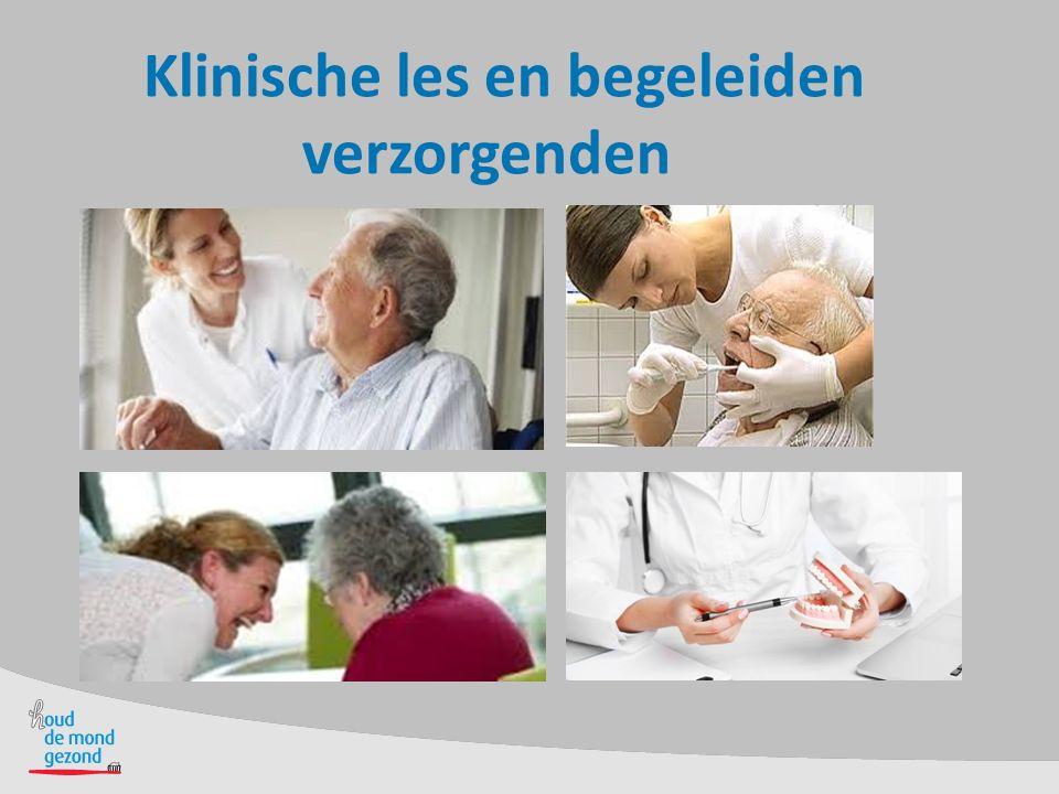 Klinische les en begeleiden verzorgenden
