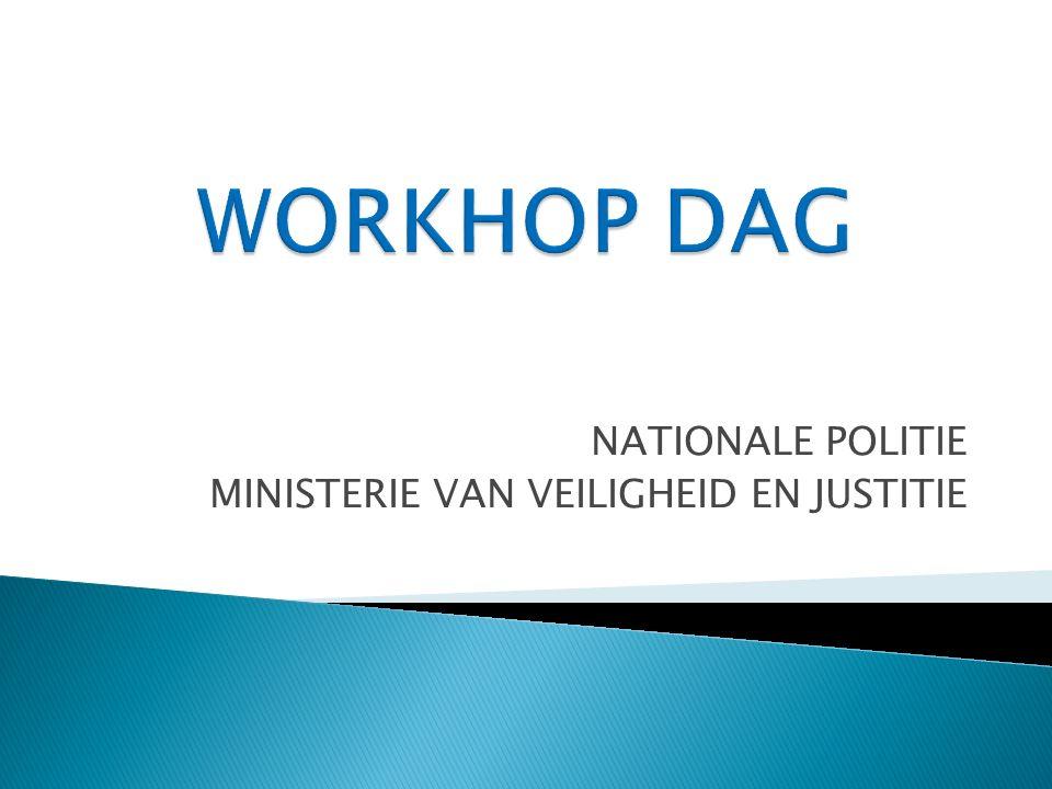 NATIONALE POLITIE MINISTERIE VAN VEILIGHEID EN JUSTITIE
