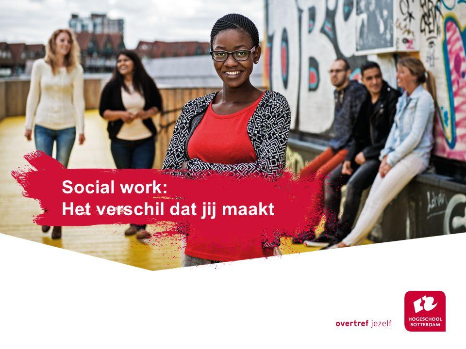 Social work: Het verschil dat jij maakt