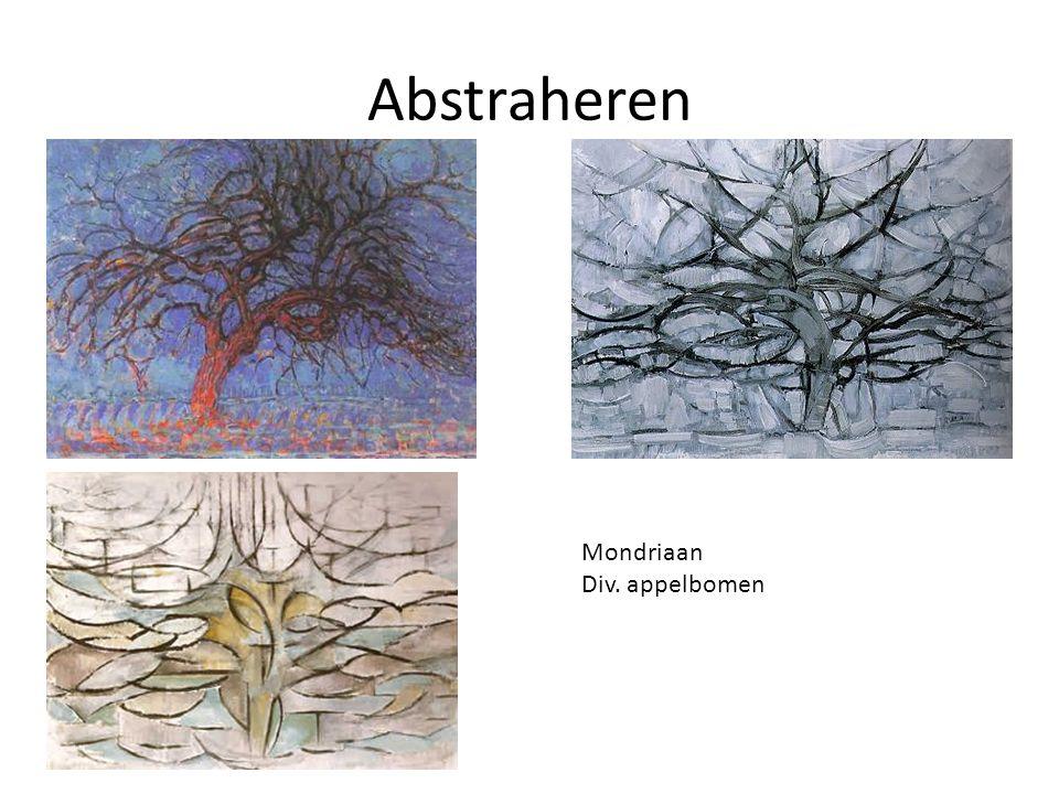 Abstract Mondriaan- Compositie
