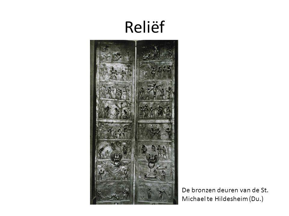 Reliëf De bronzen deuren van de St. Michael te Hildesheim (Du.)