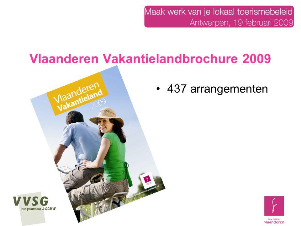 Vlaanderen Vakantieland mailing Oplage: 200 000 ex (klantendatabase: postadressen) Drop: 30 januari 4 manieren om het boek aan te vragen: verwijzen naar de DVT