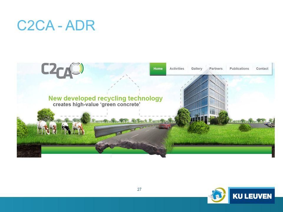 C2CA - ADR 27