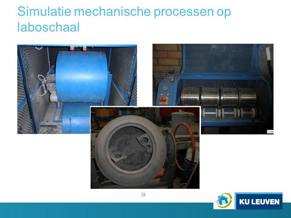 Simulatie mechanische processen op laboschaal 33
