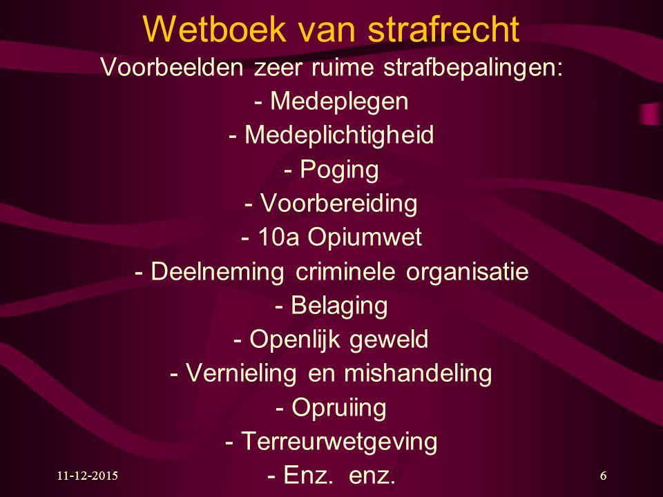 11-12-2015www.zakboekenpolitie.com47 Ambtsdwang (art.