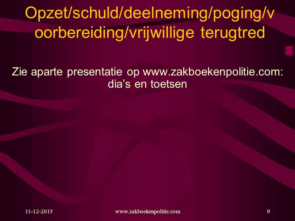 11-12-2015www.zakboekenpolitie.com60 Gekwalificeerde ambtsdwang of wederspannigheid (art.