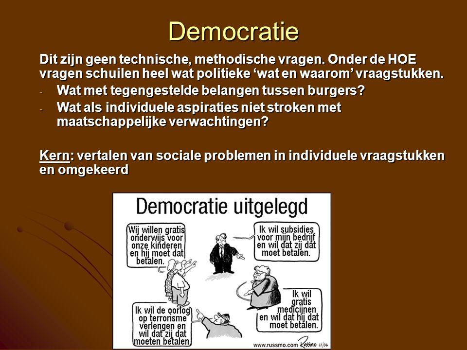 Maatschappelijk debat Omgaan met tegenstellingen en spanningen  - - Functionalisme: integratie is een individueel product - - Constructivisme: integratie is een sociaal proces Dat leidt tot onderscheiden sociaal-pedagogische strategieën (ook voor jeugdwerk!) - - Functionalisme maakt paradoxen hanteerbaar door te sturen in de richting van de goede oplossingen (of die op te leggen) - - Constructivisme focust op het vinden van altijd tijdelijke evenwichten door dialoog en discussie