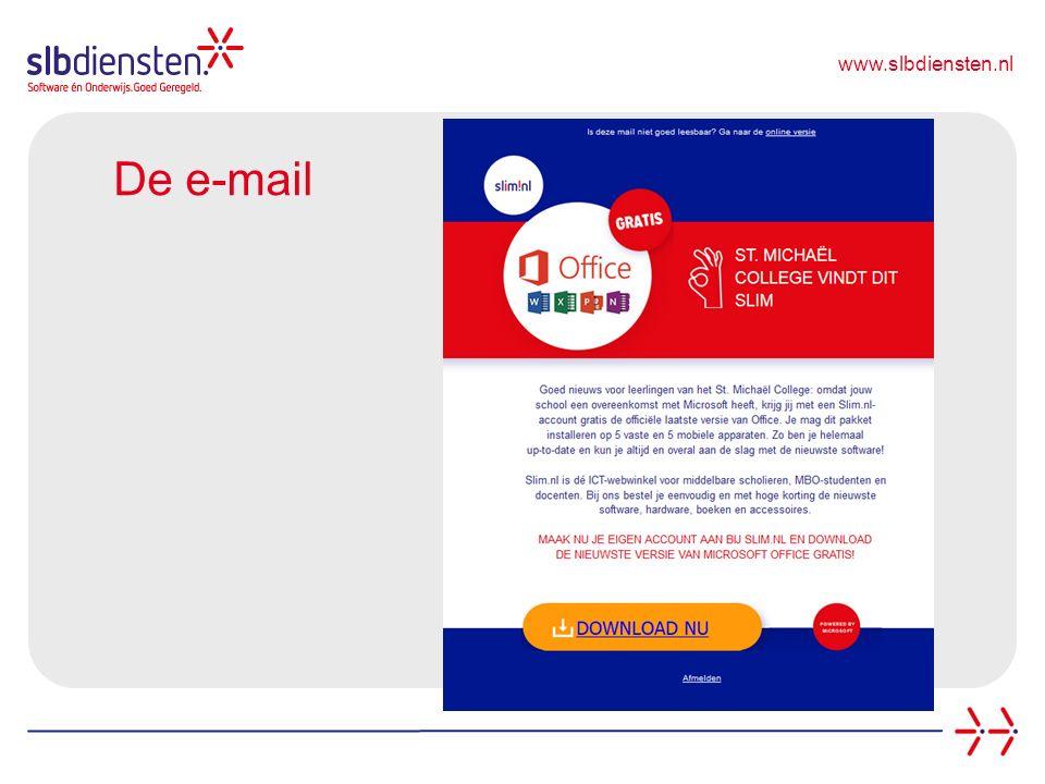 www.slbdiensten.nl De e-mail