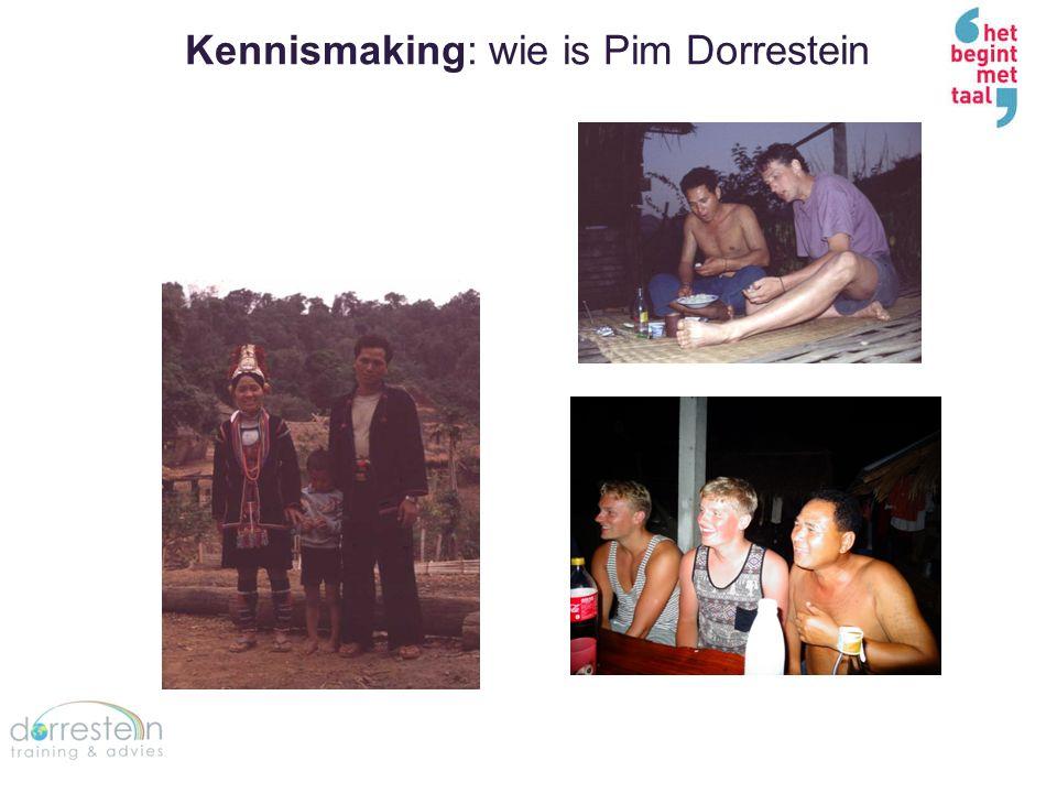 Kennismaking: wie is Pim Dorrestein