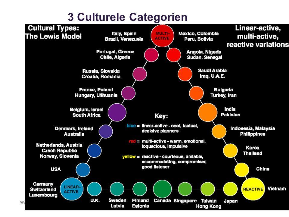 3 Culturele Categorien Workshop Culturele bewustwording Bouwen aan een betere toekomst32 Multi-actieve Culturen Linear-actieve Culturen Reactieve Cult