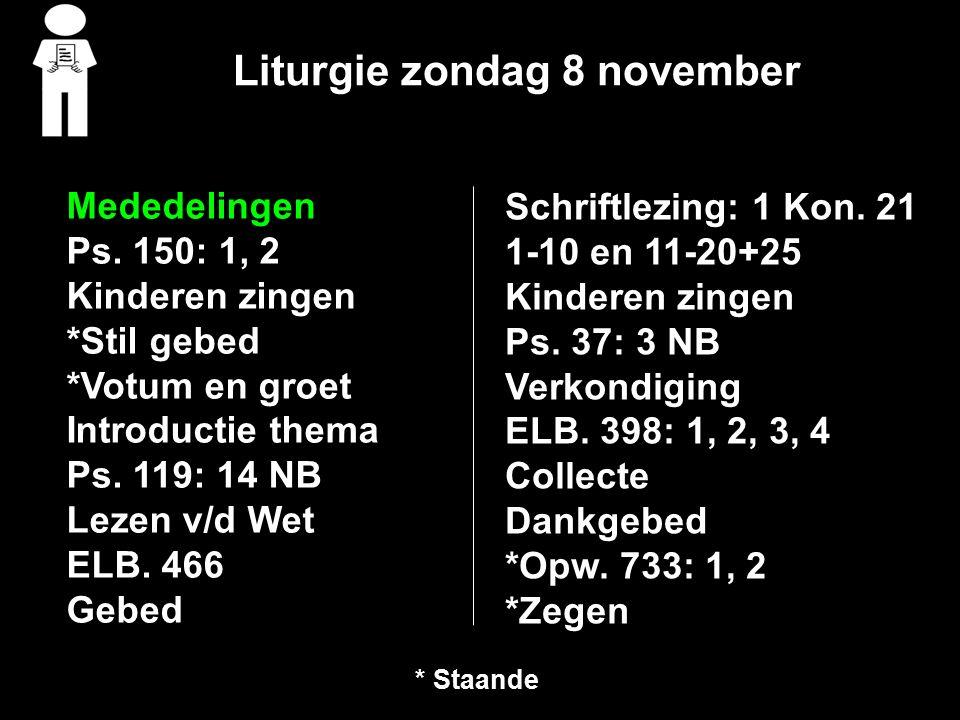 1 Koningen 21 1-10 en 11-20+25 1Hierna gebeurde het volgende.