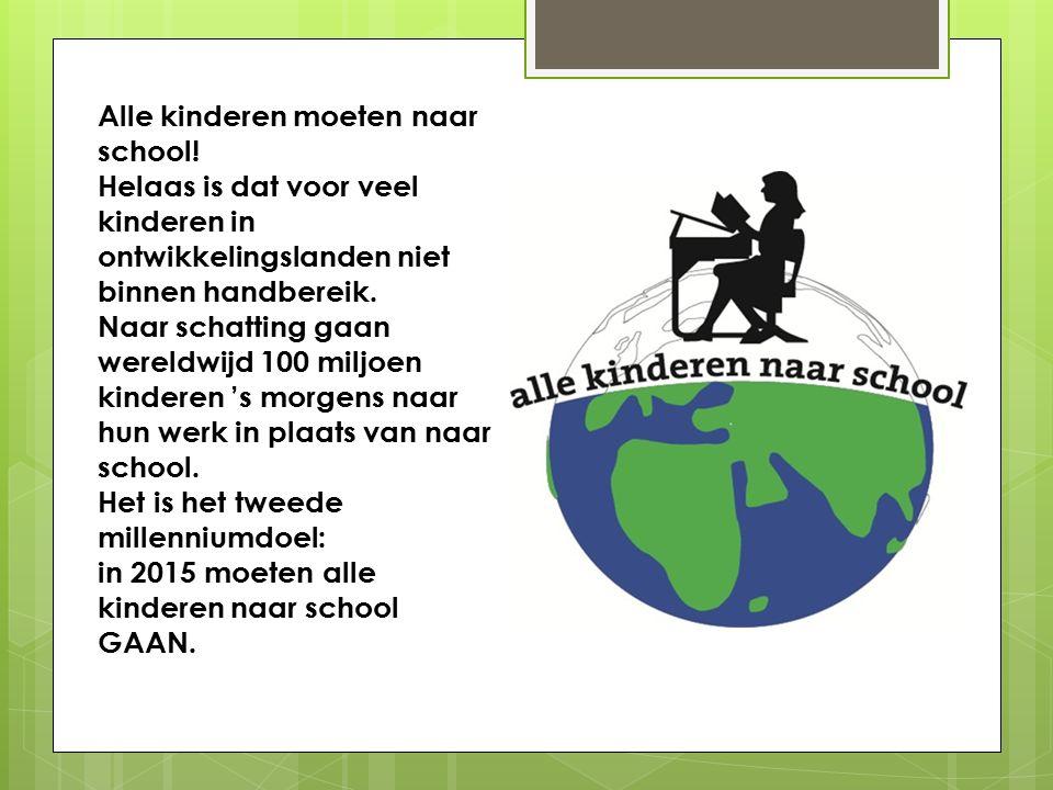 Alle kinderen moeten naar school.