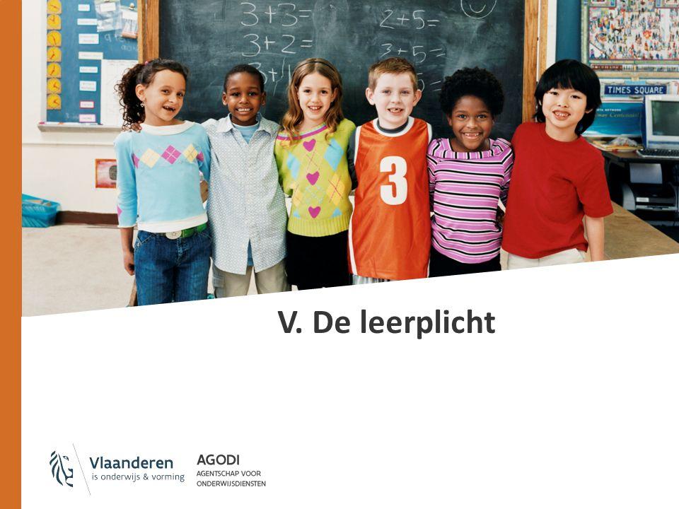 De leerplicht: duur Start: 1 september van het kalenderjaar waarin de leerling 6 jaar wordt Einde: ofwel datum van de 18e verjaardag van de leerling bijv.