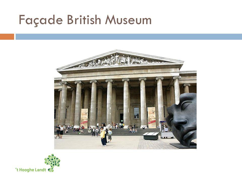 Façade British Museum