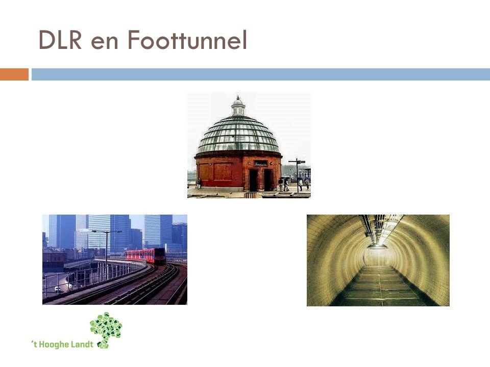 DLR en Foottunnel