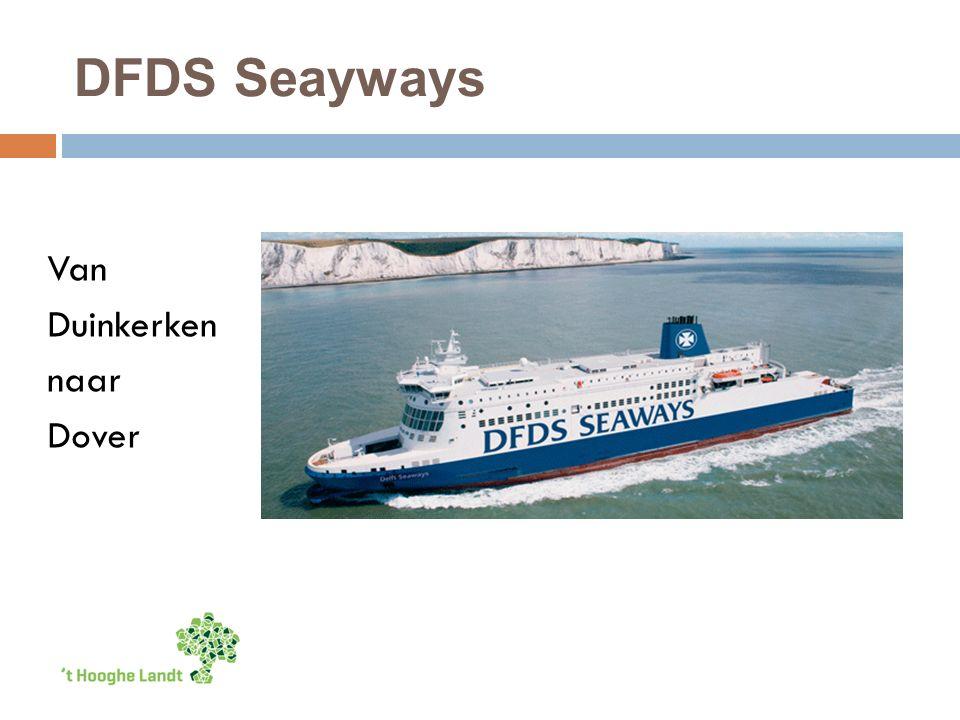 DFDS Seayways Van Duinkerken naar Dover