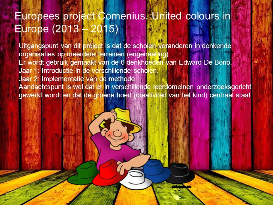 Europees project Comenius.